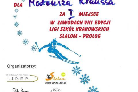 2021-02-16-Liga-Szk-Krk-Dyplom-Mateusz-Krauss