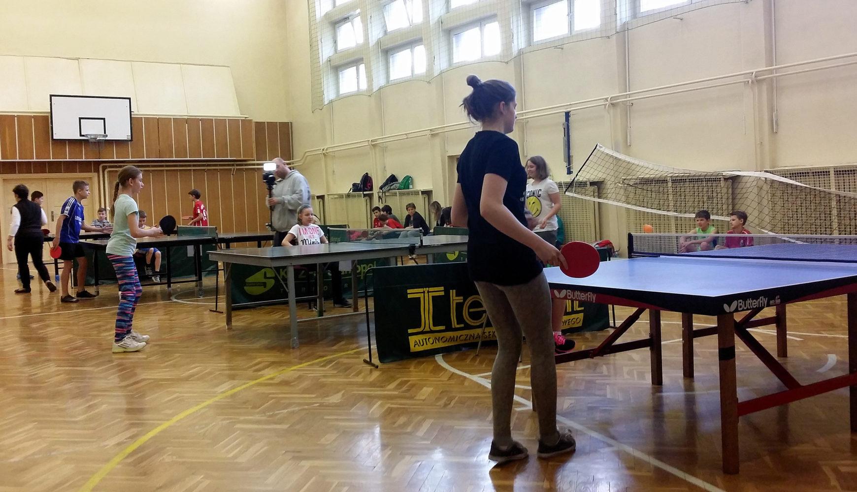 VII Turniej Tenisa Stołowego Dla Szkół Podstawowych