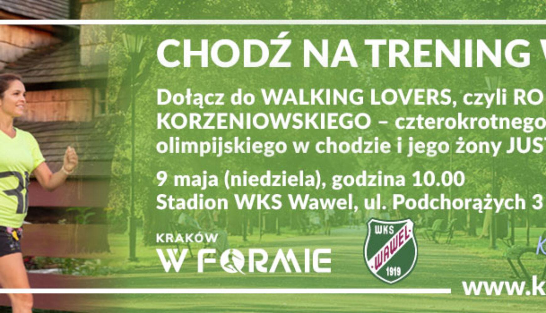 #KrakówWFormie: idziemy dla zdrowia zWalking Lovers